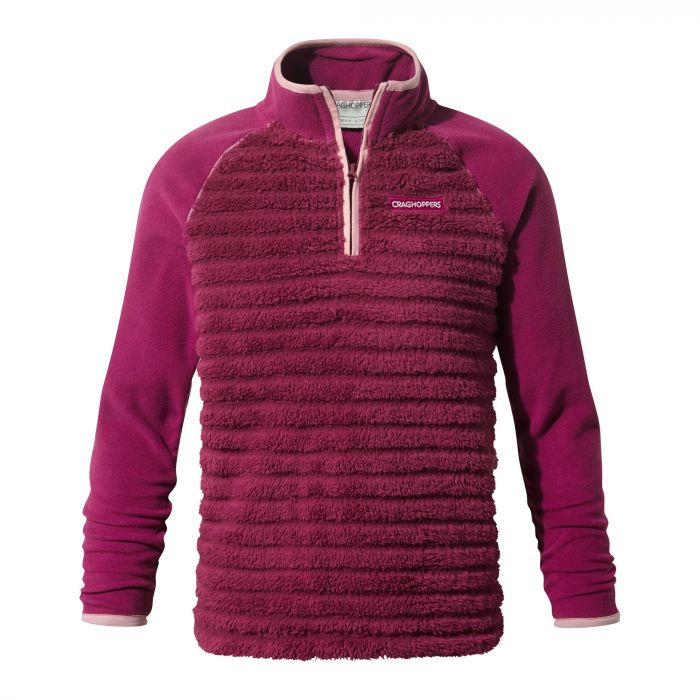 Craghoppers Maddiston Half-Zip Fleece Azalia Pink