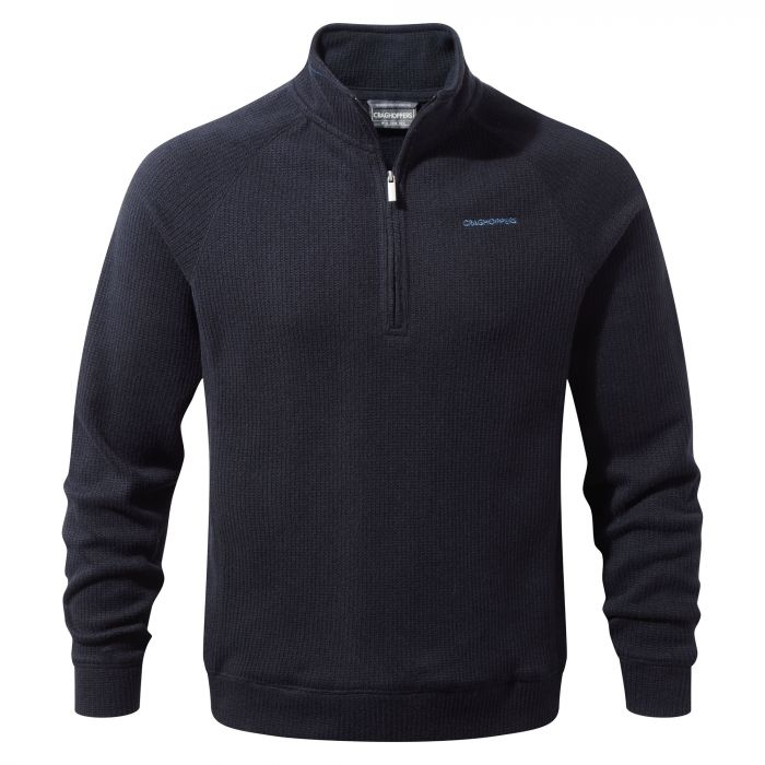 Craghoppers Norton Half Zip Fleece Dark Navy Marl