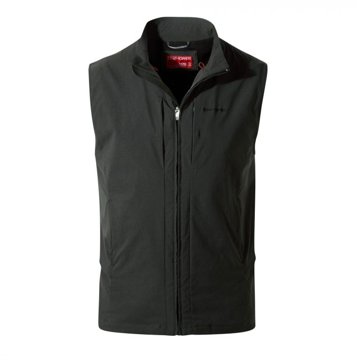 Craghoppers NosiLife Davenport Vest Black Pepper