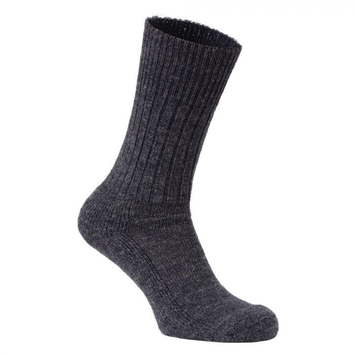 Craghoppers Mens Wool Hiker Sock Black Pepper Marl