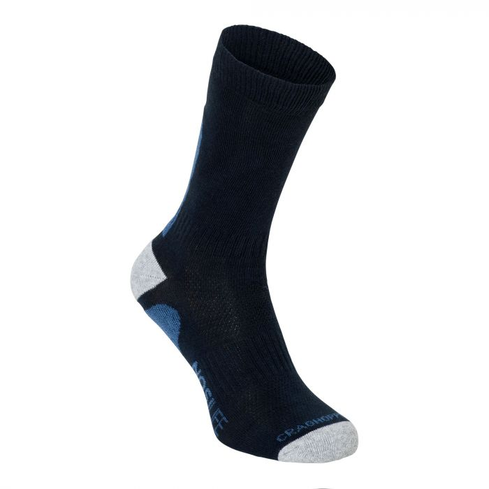 Craghoppers NosiLife Adventure Socks Dark Navy / Soft Denim