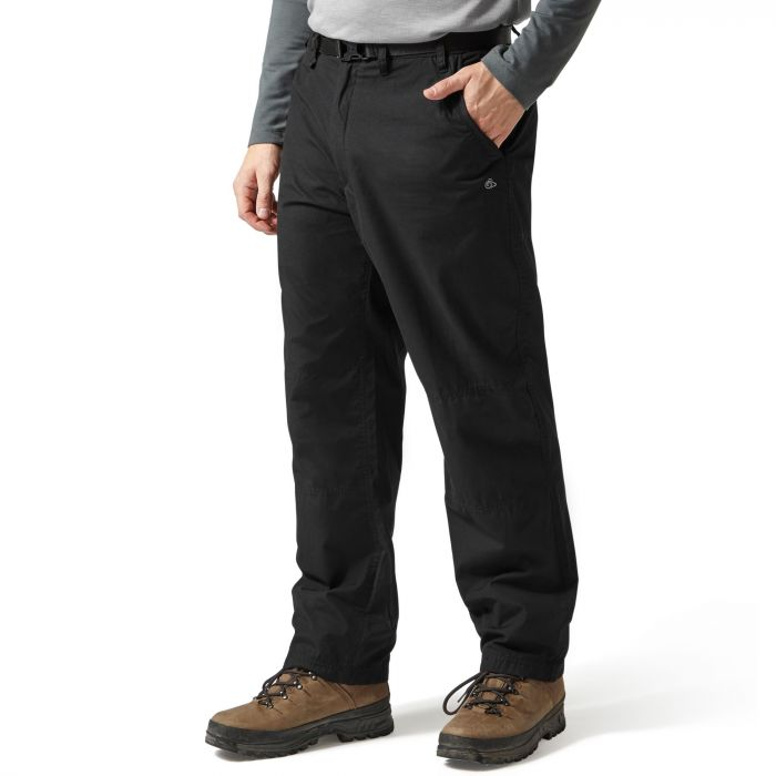 Craghoppers Classic Kiwi Trousers Black