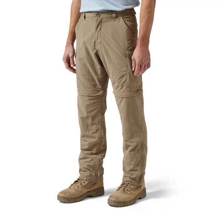 Craghoppers NosiLife Convertible Trousers Pebble