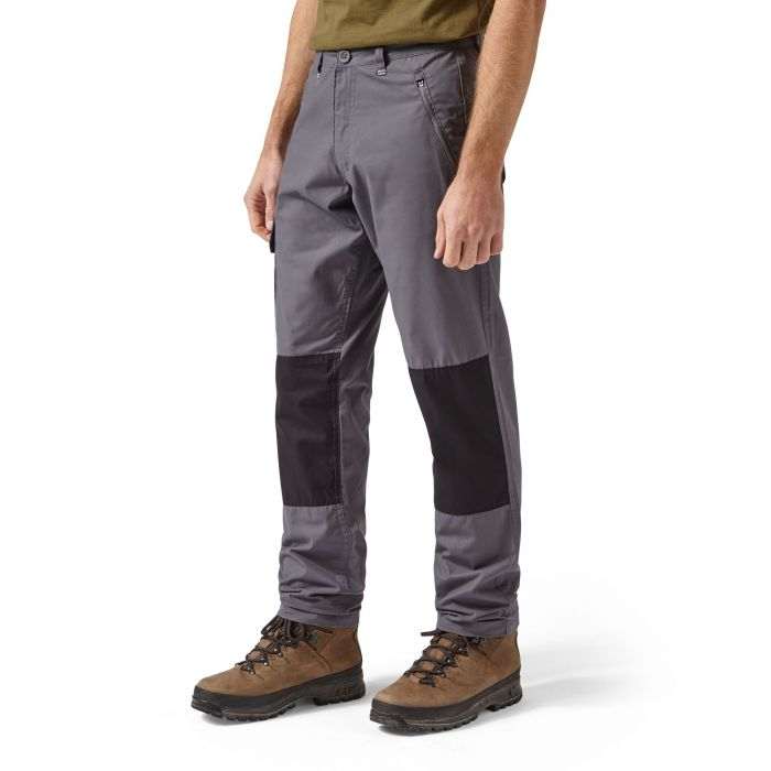 Craghoppers Traverse Trouser Elephant / Black Pepper