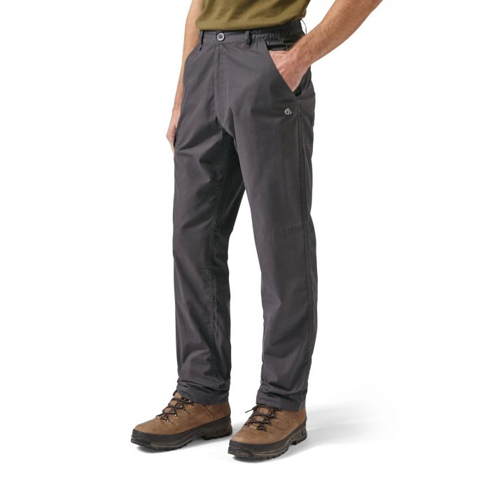 Craghoppers C65 Trousers Black Pepper