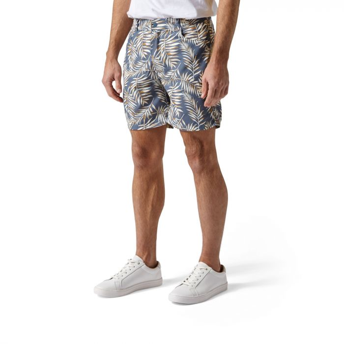 Craghoppers Whitehaven Shorts Ocean Blue Print