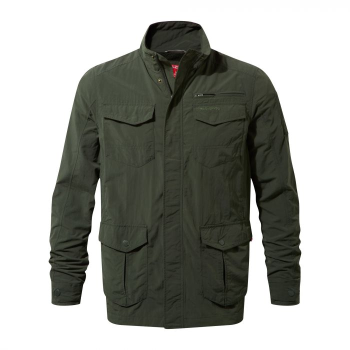 Craghoppers NosiLife Adventure Jacket Dark Khaki