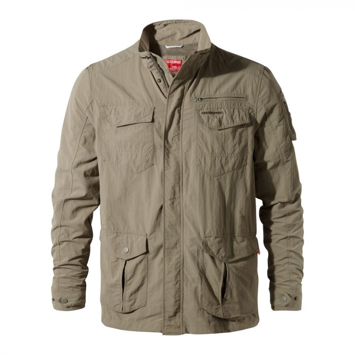 Craghoppers NosiLife Adventure Jacket Pebble