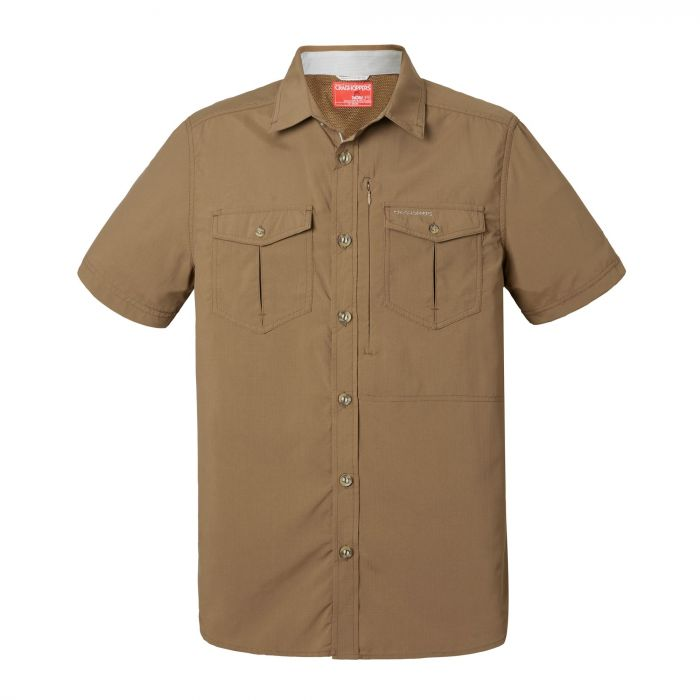 Craghoppers NosiLife Adventure Short Sleeved Shirt Kangaroo