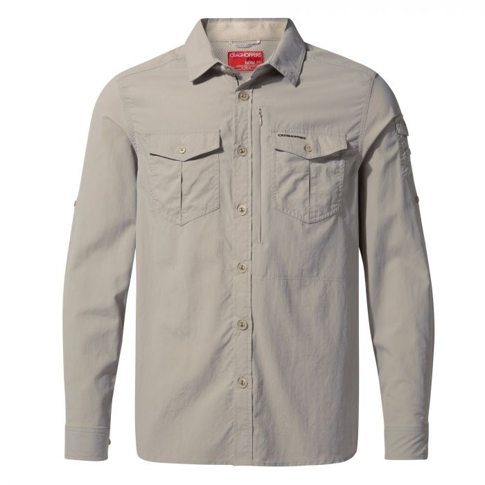 e6ea48b3 Home · Craghoppers NosiLife Adventure II Long-Sleeved Shirt - Parchment.  CMS605_222 1