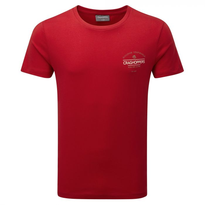 Craghoppers Erec Short-Sleeved T-Shirt Chilli