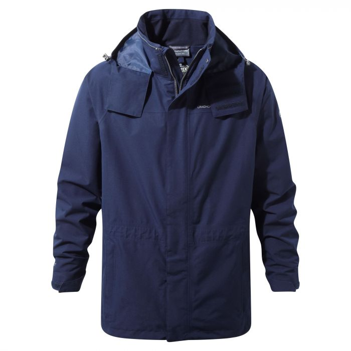 Craghoppers Ashton GORETEX® Interactive Jacket Blue Navy