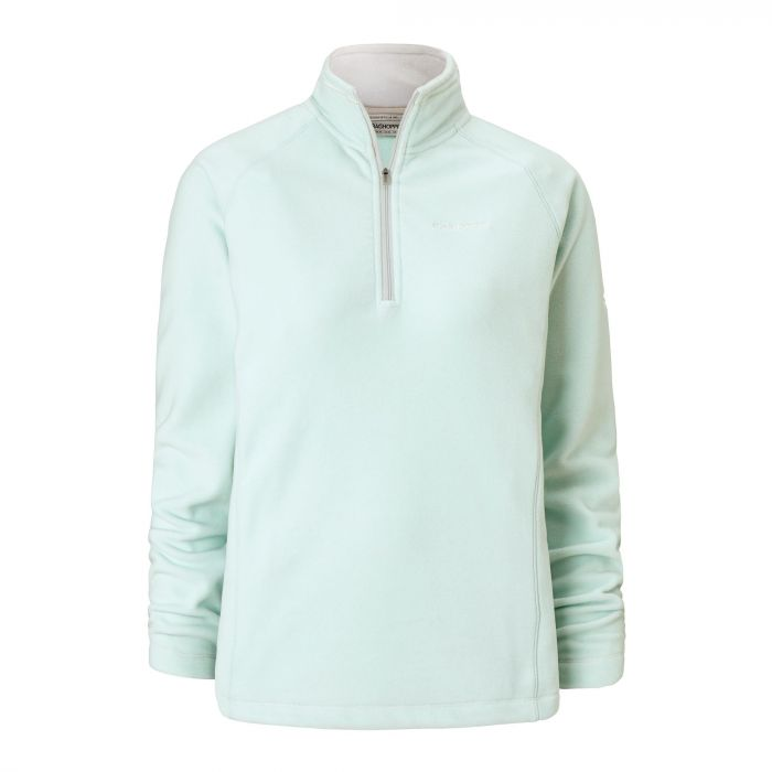 Craghoppers Seline Half Zip Fleece Soft Mint