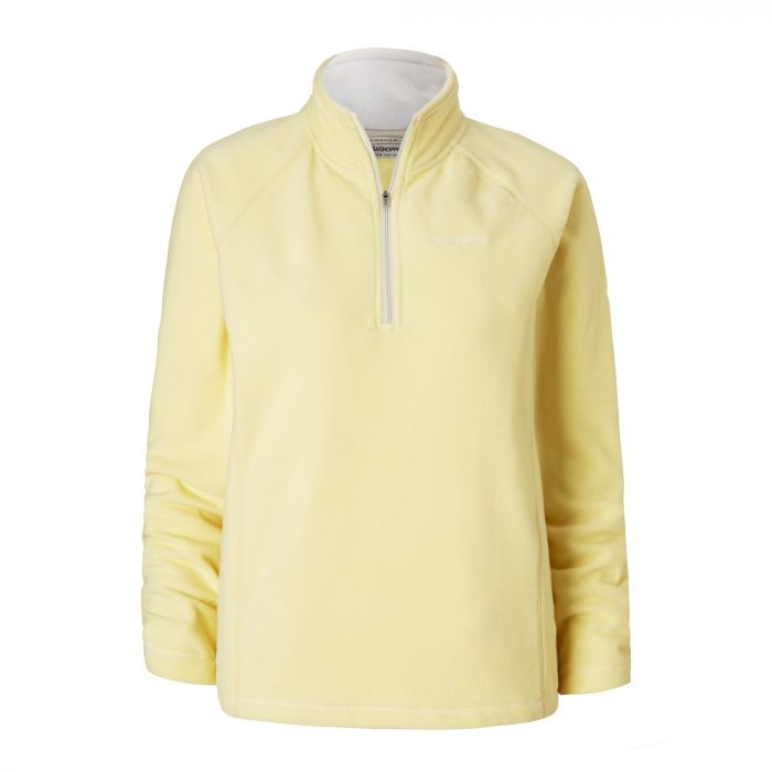 Craghoppers Seline Half Zip Fleece Buttercup