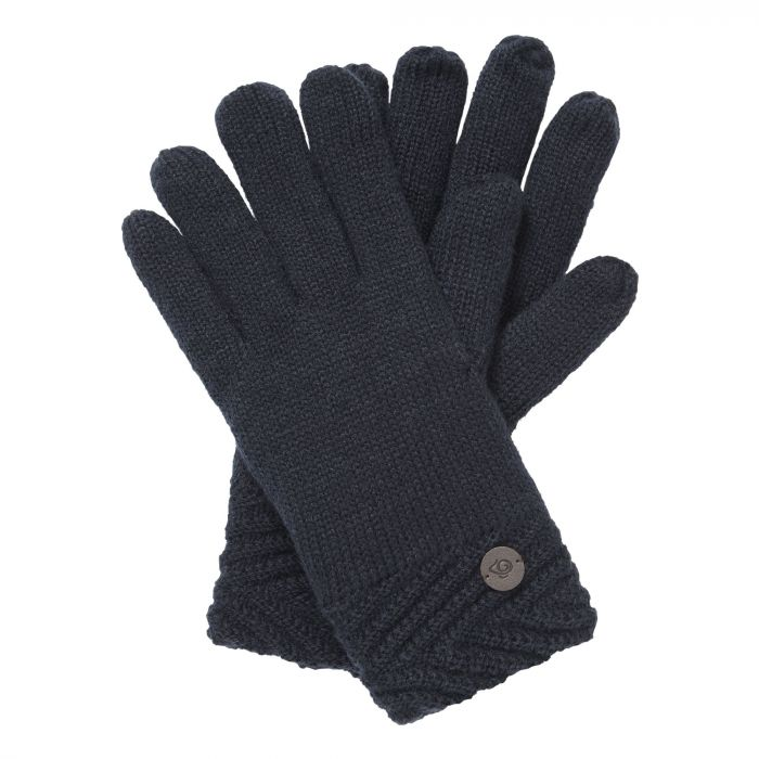 Craghoppers Maria Knit Glove Blue Navy
