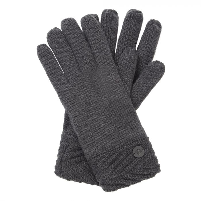 Craghoppers Maria Knit Glove Charcoal