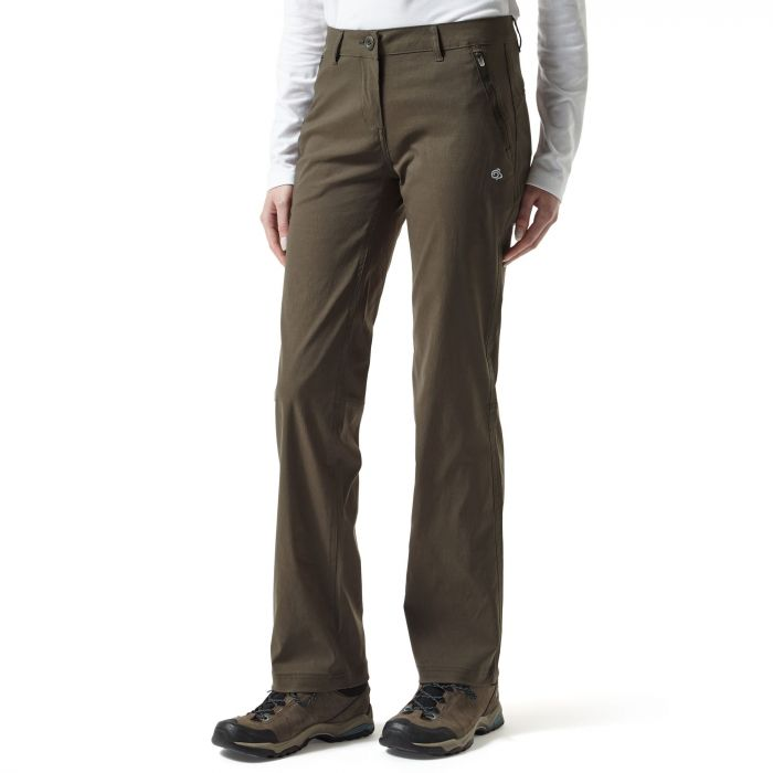 Craghoppers Kiwi Pro Stretch Trousers Mid Khaki