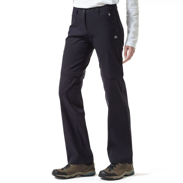 Craghoppers Kiwi Pro Convertible Trousers Dark Navy