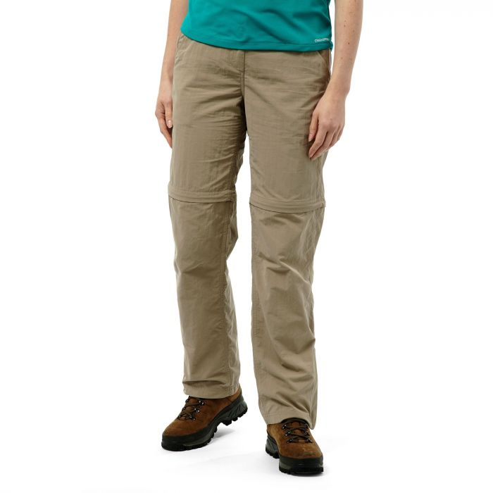 Craghoppers NosiLife Convertible Trousers Mushroom