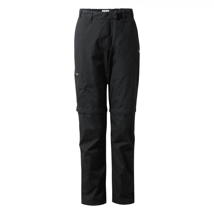 Craghoppers Kiwi II Convertible Pants Black