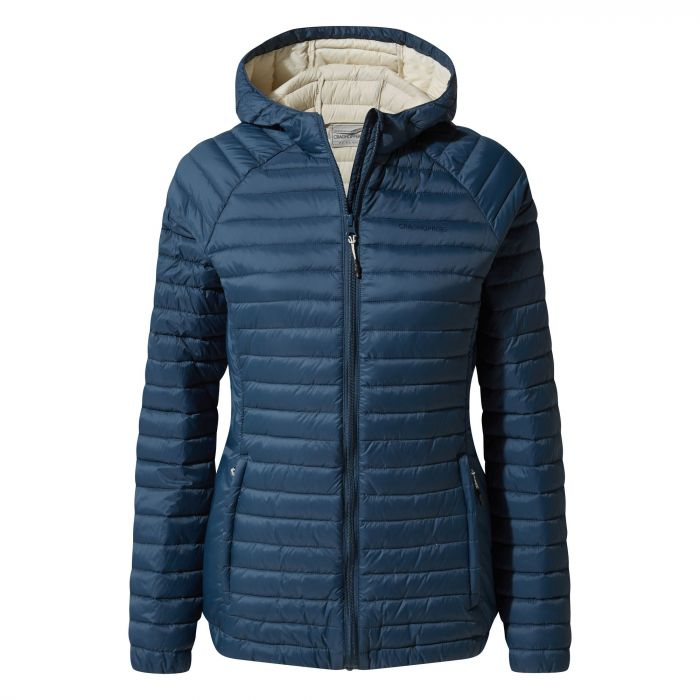 Craghoppers Venta Lite Hooded Jacket Loch Blue