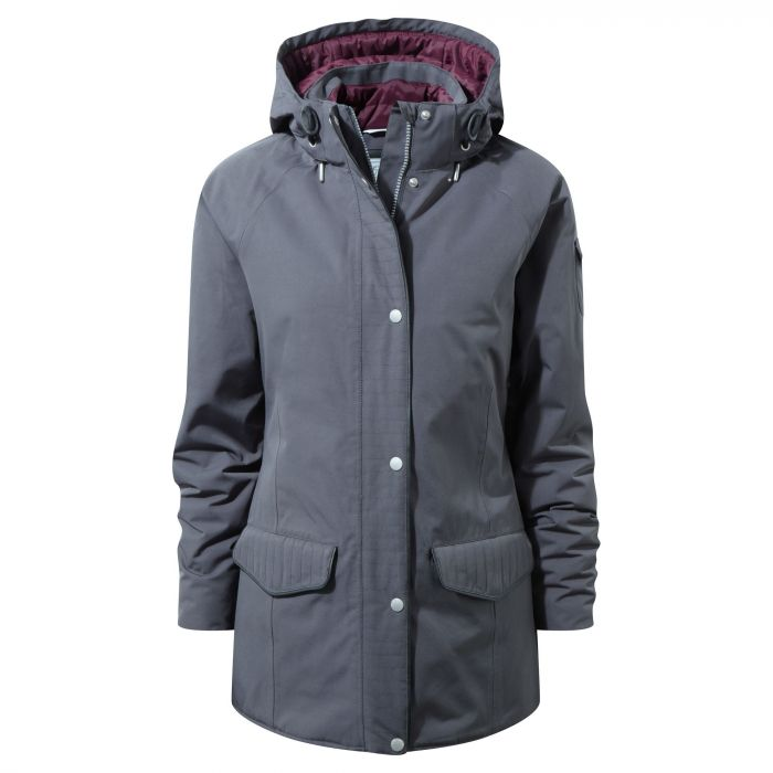 Craghoppers 250 Jacket Charcoal / Winterberry