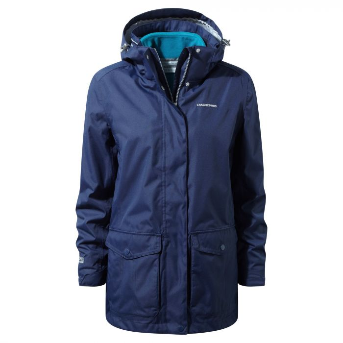 Craghoppers Madigan III 3 In 1 Jacket Night Blue / Forest Teal