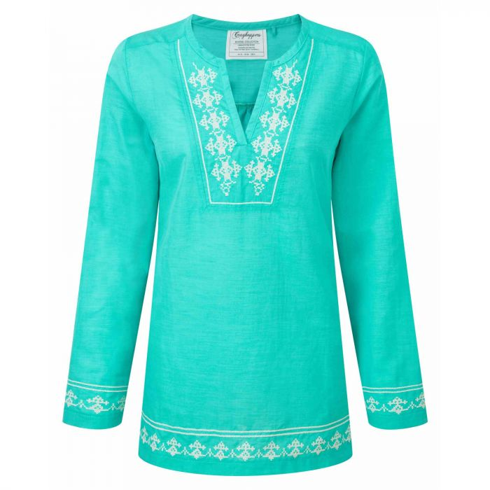 Craghoppers Clemence Long-Sleeved Top Spearmint