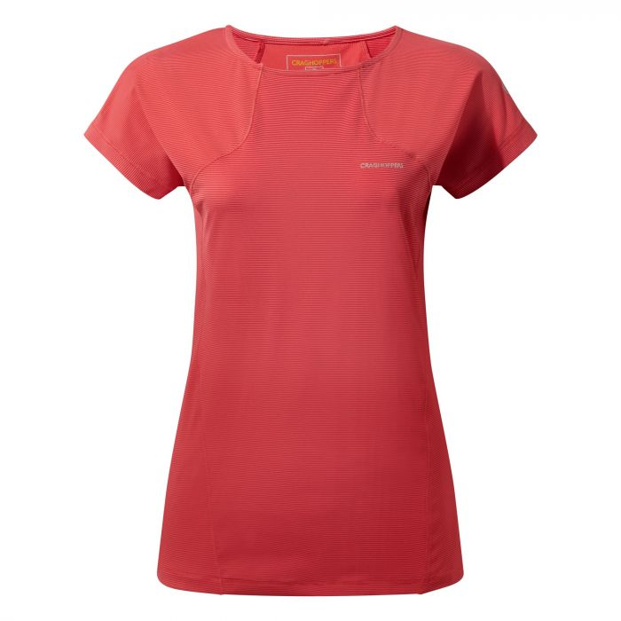 Craghoppers Fusion T-Shirt Fiesta Red