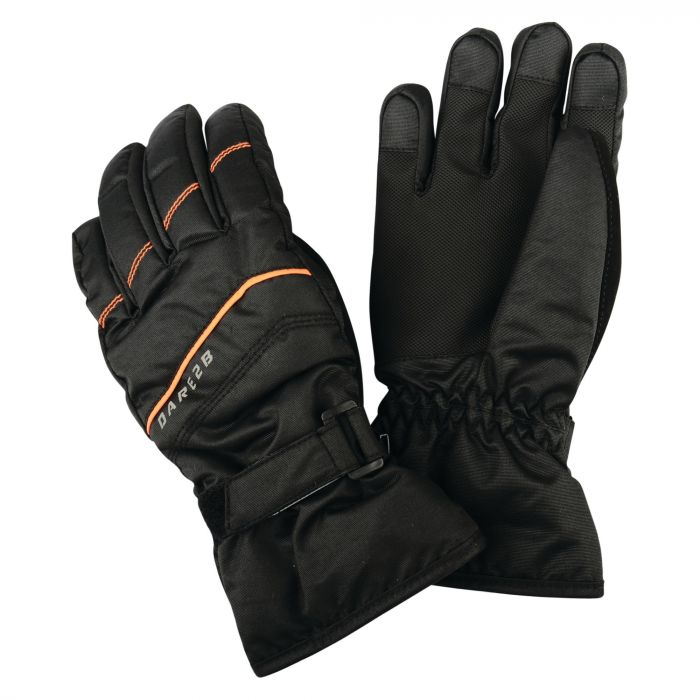 Dare2b Kids Flag Down II Ski Gloves Black