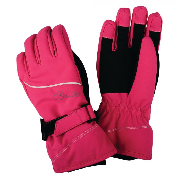 Dare 2B Kids Instruct Gloves Cyber Pink