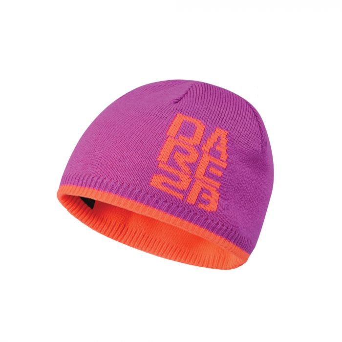 Dare2b Kids Thick Cuff Reversible Beanie Hat Ultra Violet Purple