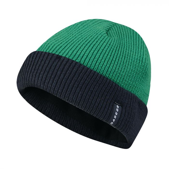 Dare2b Men's Vocate Ribbed Beanie Hat Highland Green
