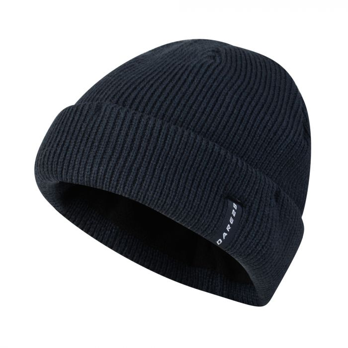 Dare2b Men's Vocate Ribbed Beanie Hat Outer Space Blue