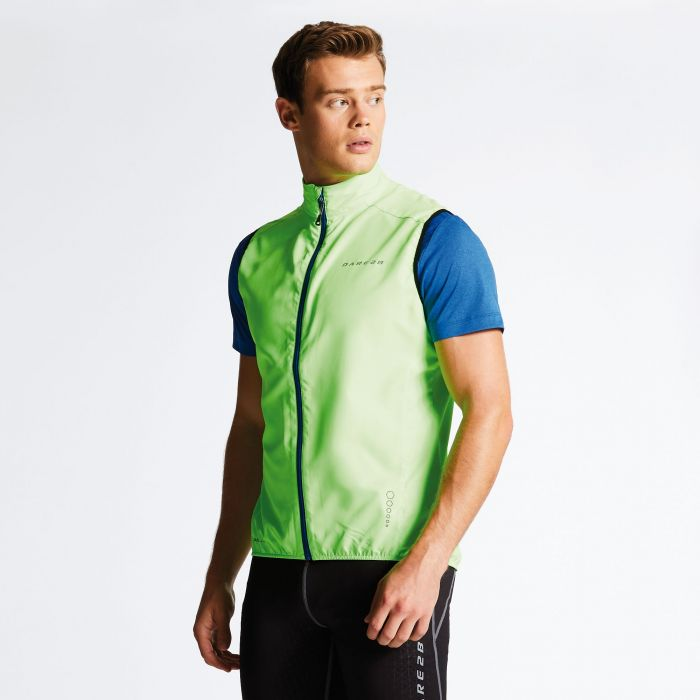 Dare 2B Men's Fired Up II Men's Vest Neon Green