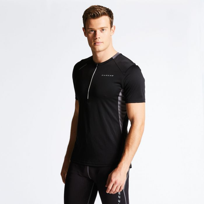 Dare 2B Men's Attest Workout T-Shirt Black