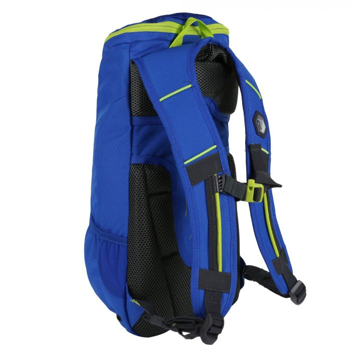 9741ae29516b Regatta Blackfel Nano Junior Rucksack Oxford Blue Lime Zest