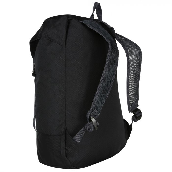 e719b0e8a2b0 Regatta Easypack II 25 Litre Lightweight Packaway Backpack Rucksack Black