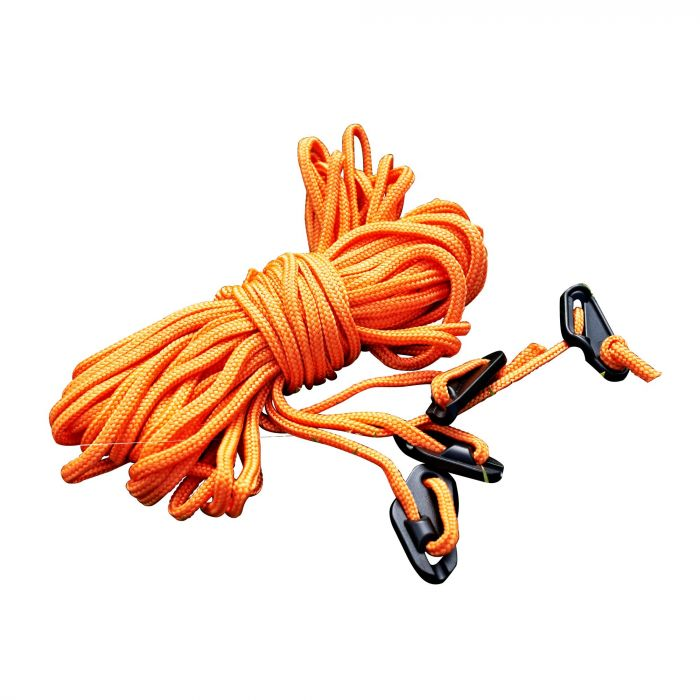 Regatta 4 Pack 2 Metre Orange Guy Lines Orange