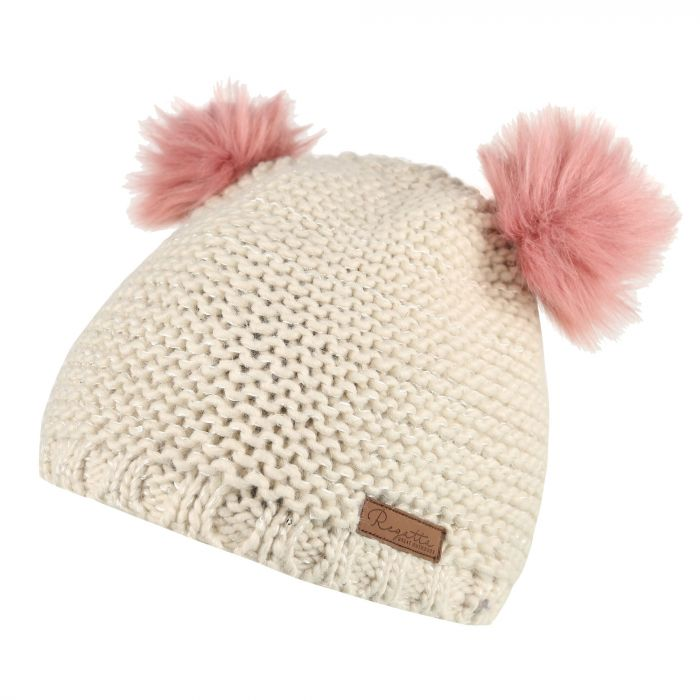 Regatta Hedy Lux Acrylic Knit Hat Light Vanilla