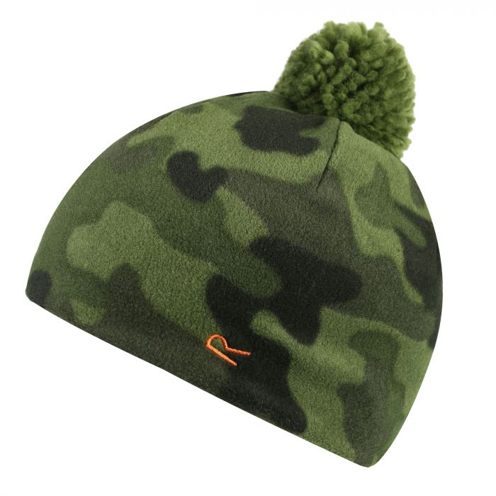 Regatta Fallon Printed Camo Fleece Hat Cypress Camo