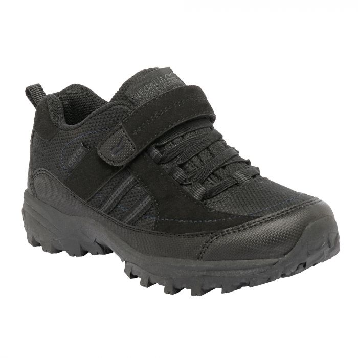 Regatta Kids Trailspace II Low Walking Shoes Black