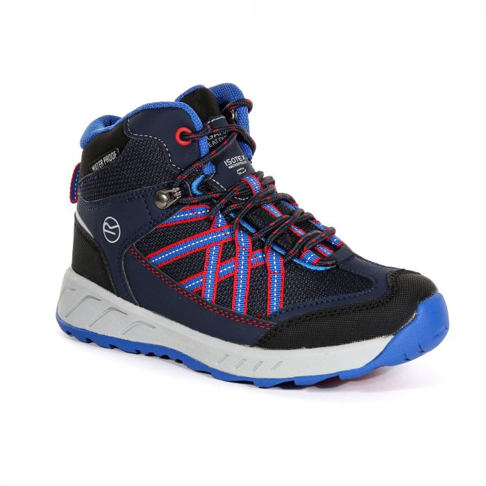 05505105fcb4ba Regatta Kids' Samaris Mid Walking Boots Navy Pepper. Add to Saved Items