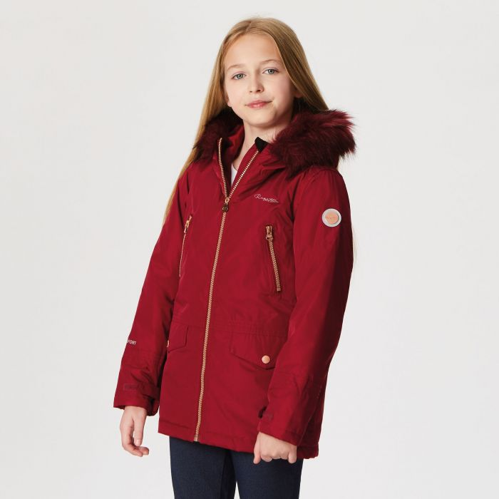 Regatta Pecola Waterproof Insulated Jacket Rumba Red