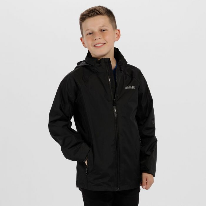Regatta Gabiel Waterproof Hooded Jacket Black