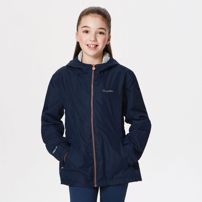 Regatta Jacobina Waterproof Shell Jacket Navy