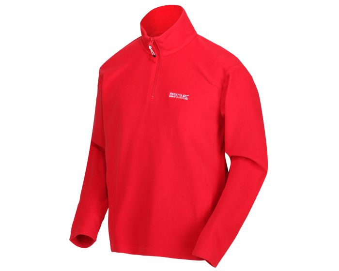 Regatta Men's Thompson Lightweight Half-Zip Fleece - True Red