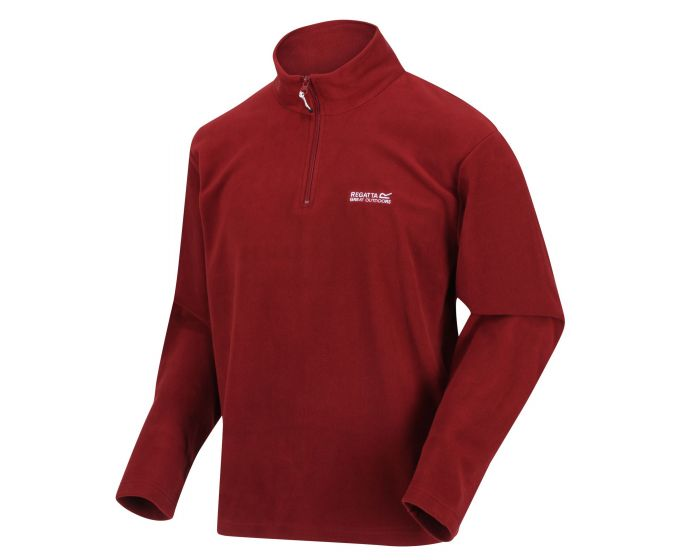 Regatta Men's Thompson Lightweight Half-Zip Fleece - Merlot