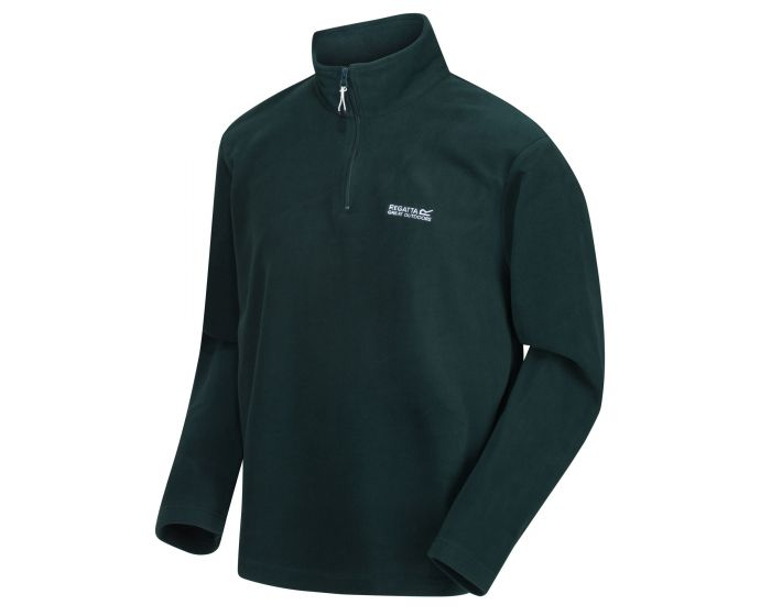 Regatta Men's Thompson Lightweight Half-Zip Fleece - Deep Pine