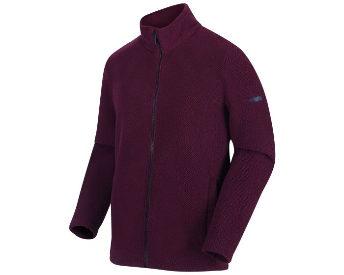 Regatta Men's Garrian Full Zip Heavyweight Fleece - Port Royale Black